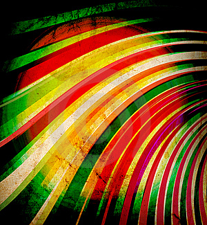 Multicolor Sunbeams Grunge Royalty Free Stock Photography - Image: 21215567