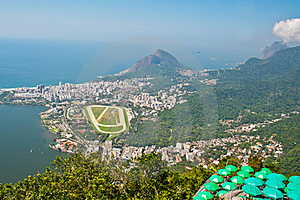 Aerial View Of Rio De Janeiro, Brazil Royalty Free Stock Photos - Image: 21221278