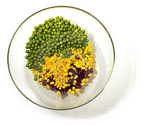 Corn Beans And Peas. Stock Image - Image: 21233201