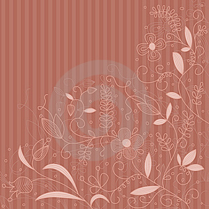 Vector Floral Pattern. Stock Photography - Image: 21233272