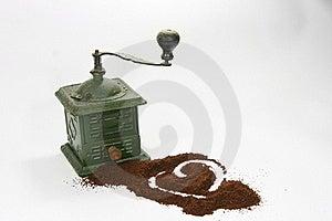 Vintage Coffee Grinder Stock Photos - Image: 21234873