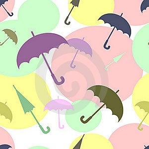 Multicoloured Umbrellas Stock Photo - Image: 21235600