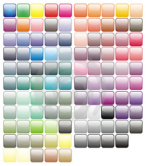 Paint Tray Colorful Paints Colors Stock Photography - Image: 21245422