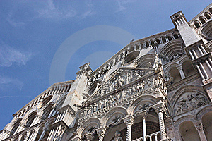 Ferrara Cathedral Stock Images - Image: 21251884