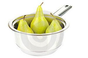 Juicy  Pears Royalty Free Stock Photos - Image: 21252888