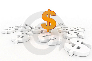 Dollar Success Royalty Free Stock Images - Image: 21252899