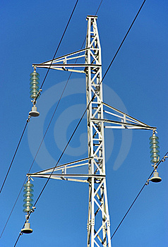 Electricity Pole Royalty Free Stock Photo - Image: 21255835