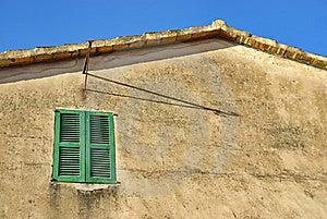Mediterranean Window Stock Image - Image: 21255841