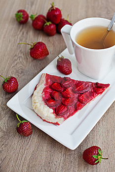 Strawberry Pie Stock Photography - Image: 21261172