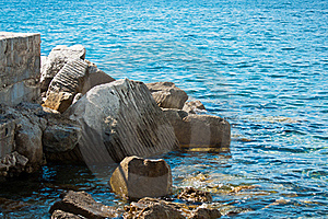 Rocks In Water Stock Photo - Image: 21265050