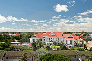 Vientiane Cityscape Royalty Free Stock Images - Image: 21265709