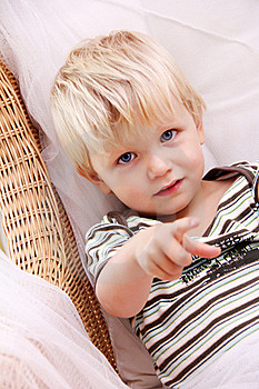 Blonde Boy Royalty Free Stock Photos - Image: 21268658