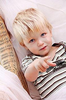 Blondynki Chłopiec Zdjęcia Royalty Free - Obraz: 21268658