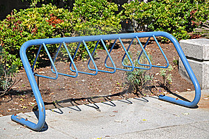 Bike Rack Stock Images - Image: 21268744