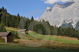 Zugspitze, Tyrol, Austria Royalty Free Stock Photo - Image: 21273125
