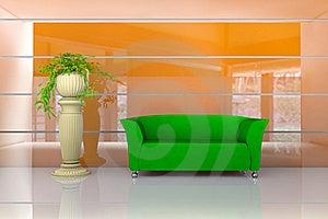 Orange Room Royalty Free Stock Photography - Image: 21273637