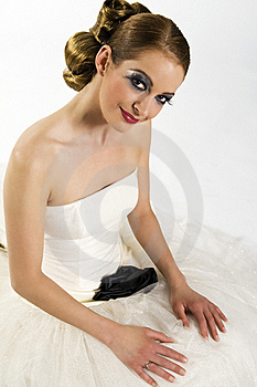 Bride Looking Up Stock Images - Image: 21282704