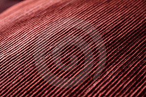 Red Woven Fabric Closeup Royalty Free Stock Images - Image: 21289569