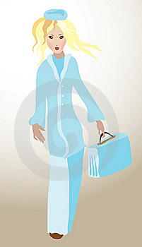 Medical Girl Royalty Free Stock Images - Image: 21292029
