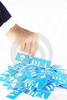 Get Idea Royalty Free Stock Photo - Image: 21294465