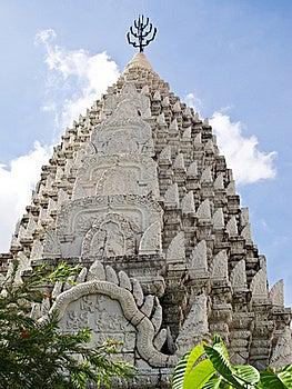 Pagoda At Temple Located In Bangkok , Thailand Stock Photo - Image: 21295330