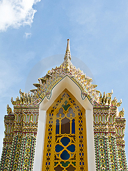 Pagoda At Ratchabophit Temple , Thailand Stock Photography - Image: 21295352