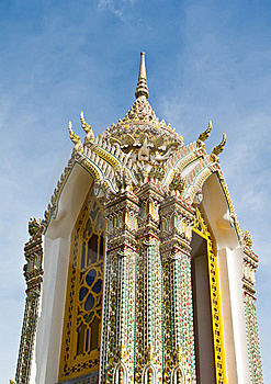 Pagoda At Wat Ratchabophit Temple,Thailand Stock Photos - Image: 21295353