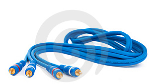 Audio Video Cable Stock Photo - Image: 21295690