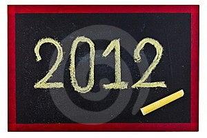2012 Blackboard Royalty Free Stock Photos - Image: 21298948