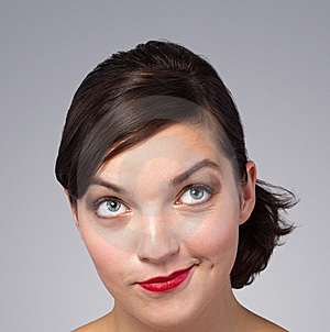 Picture Of A Beautiful Woman's Face Royalty Free Stock Photography - Image: 21299537