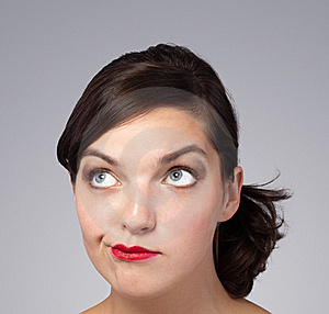 Picture Of A Beautiful Woman's Face Stock Photography - Image: 21299542