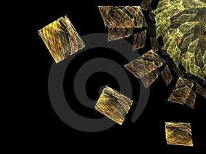 Cubes - Fractal Art Royalty Free Stock Image - Image: 2134226