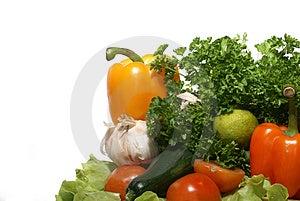 Fresh tasty vegetables Stock Images