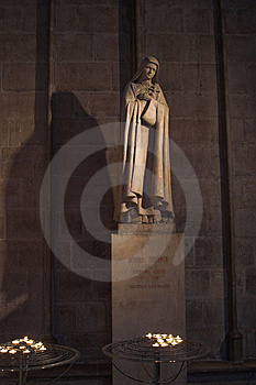 Monument Of Saint Theresa Stock Images - Image: 2138384
