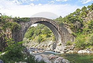 Roman Bridge Royalty Free Stock Photo - Image: 21304795