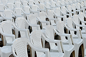 Rows Of Empty Chairs Royalty Free Stock Photography - Image: 21304807