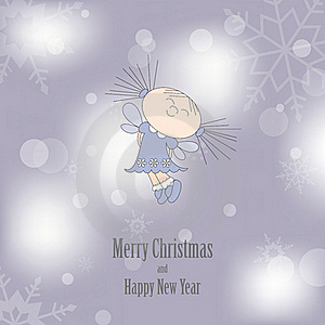 Christmas Card Royalty Free Stock Image - Image: 21306236