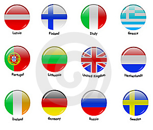 European Flages - Part 1 Stock Photography - Image: 21306602