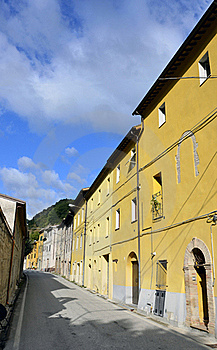 Italian Village Royalty Free Stock Photography - Image: 21309147