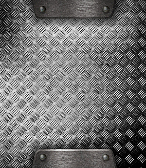Metal Plate Template Or Patter Royalty Free Stock Photos - Image: 21309438