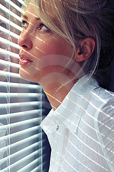 Woman In The Sunlight Stock Photo - Image: 21311380