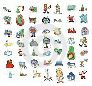 Cartoon Icon Collection #01 Stock Image - Image: 21315841