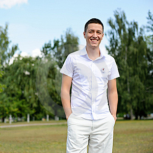 Portait Of A Handsome Young Man Royalty Free Stock Photography - Image: 21318327