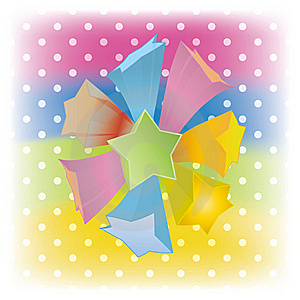Vector Abstract Star Cover Background Stock Photo - Image: 21327170