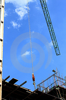 Construction Site Royalty Free Stock Image - Image: 21332466