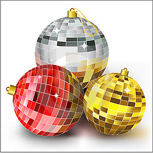 Christmas Balls Royalty Free Stock Images - Image: 21332629