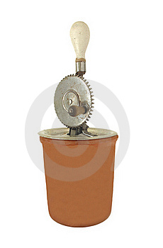 Vintage Hand Mixer Royalty Free Stock Photos - Image: 21333908