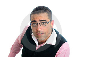 Businessman With Glasses Stock Image - Image: 21337121