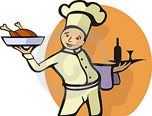Illustration Of A Chef's Profession Royalty Free Stock Images - Image: 21338359