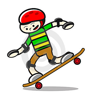 Illustration Of Skaterboy Royalty Free Stock Photography - Image: 21344097